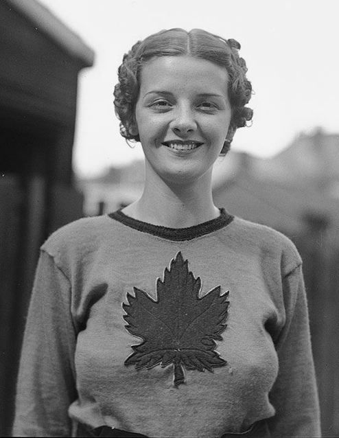 Billie Hallam, Miss Toronto, 1937