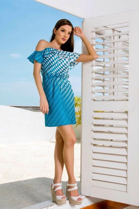 Vestido Azul The Color Wear / Blue Dress