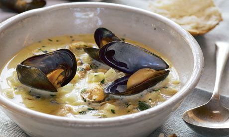 Mussels and oysters recipes | Hugh Fearnley-Whittingstall | Food and drink