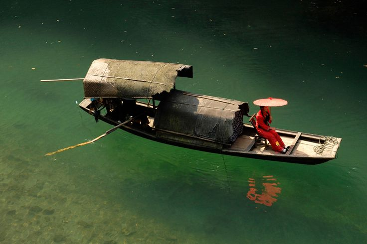 Traditional Chinese boat_By wildplaces