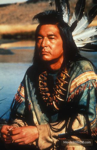 Dances with Wolves - Publicity still of Graham Greene