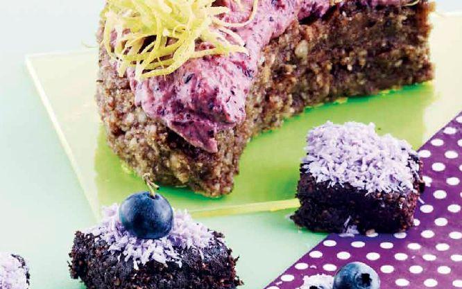 #sunday treat #raw cake #brownies #lemon cake