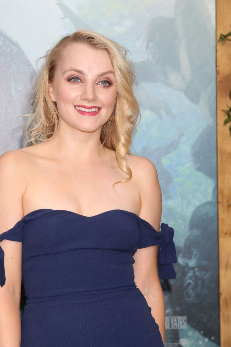 Evanna Lynch at the Legend of Tarzan premiere in Hollywood 06-27-2016