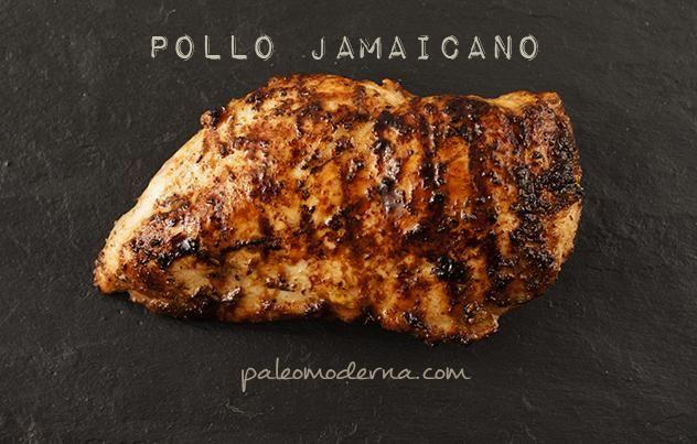 Pollo jamaicano, sencillo, delicioso y apto para dieta paleo