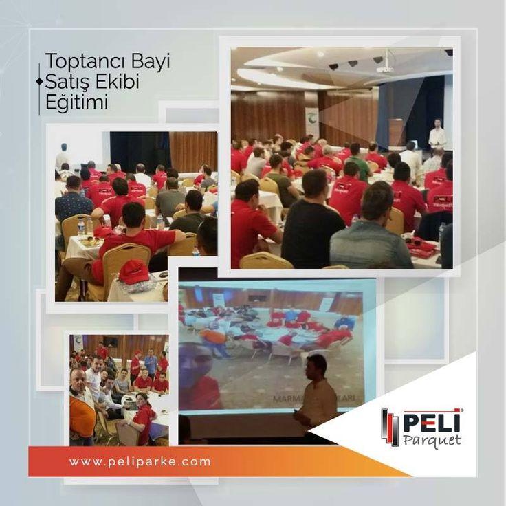 Peli Parke toptancı bayi satış ekibi, sektörünün en kapsamlı eğitim programında buluşuyor. Turan Prince Hotels'de yapılan 2 günlük programda katılımcılar; satış teknikleri seminerlerini dinleyerek, grup eğitimi toplantılarına katılacaklar.
