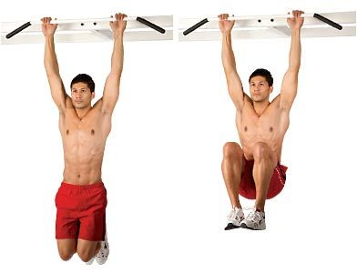 thighs exercise for men   Hanging Leg Raise - Extreme Fitness Workouts for Men