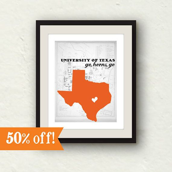 Clearance sale texas longhorns university of texas for 8x10 bedroom ideas