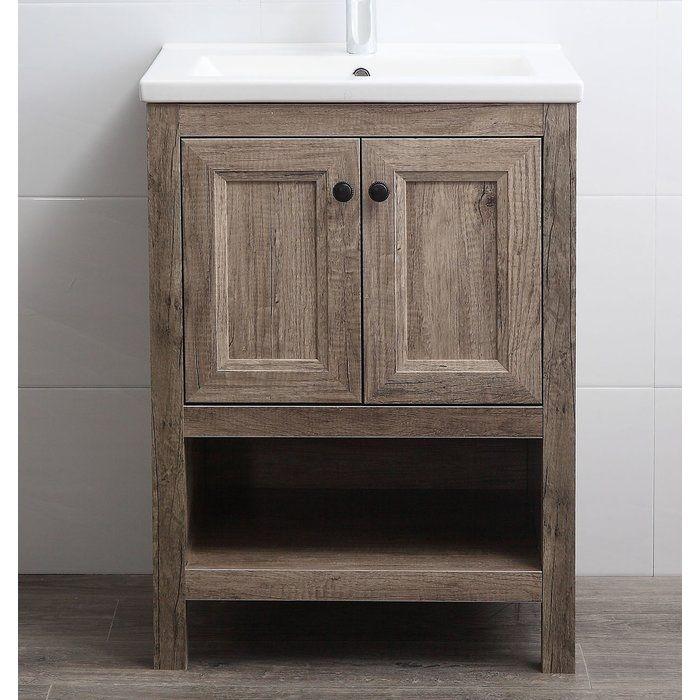 Nicholle 24 Single Bathroom Vanity Set Single Bathroom Vanity Bathroom Vanity Vanity