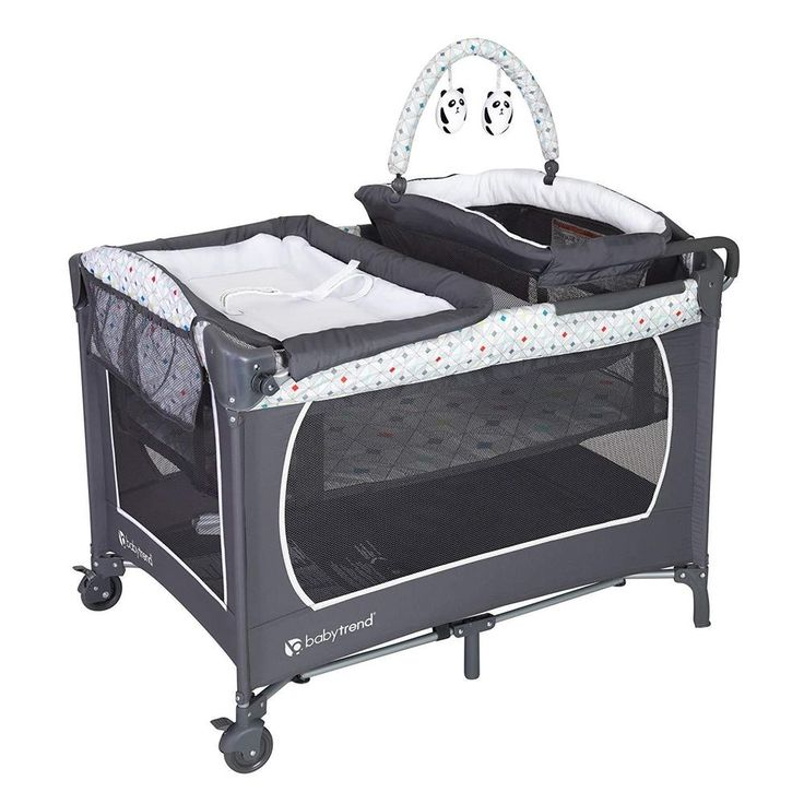 Baby Portable Bassinet Unisex Newborn Changin Playpen