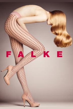 Falke Allover Bow Patterned Sheer Tights  £20.00