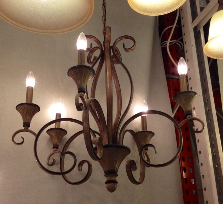 Home Depot Dining Room Chandeliers: Home Depot Chandelier $199
