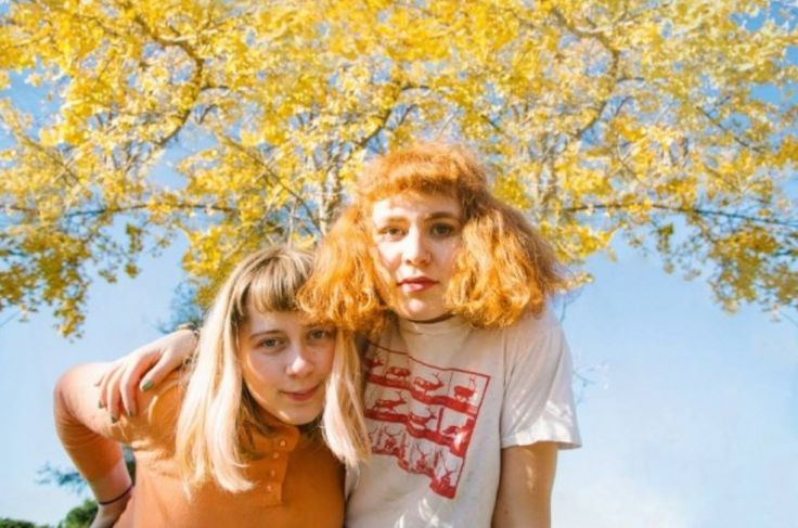 Girlpool. Los Angeles-based two-piece made up of Cleo Tucker and Harmony Tividad