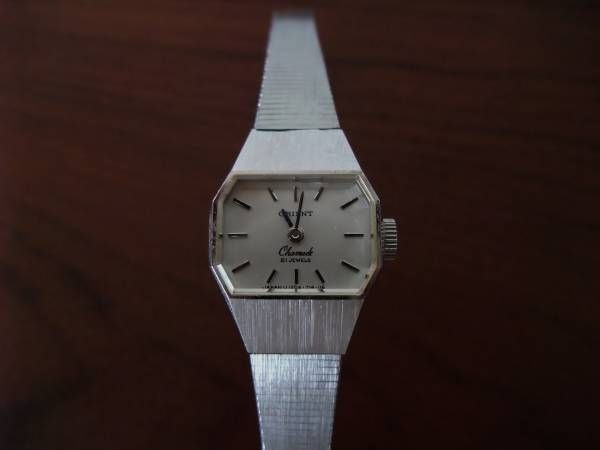Orient オリエント時計手巻きアンティークレディース21石 Watch Antique ¥1500yen 〆11月12日
