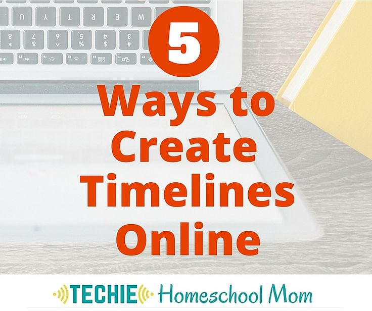 5 Ways to Create a Timeline Online - Beth Napoli