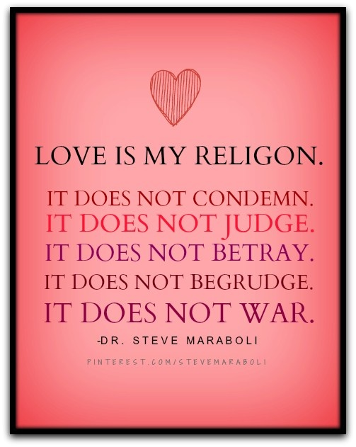 love is my religion #quote