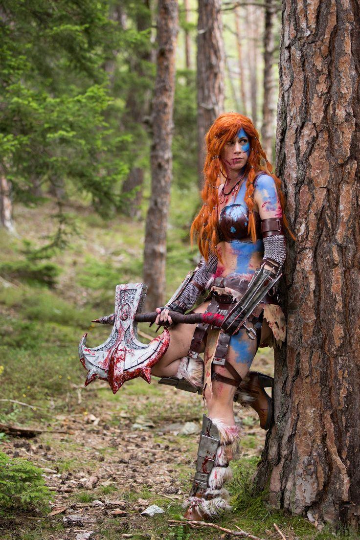 Shooting Diablo III avec Max TRS Cosplay http://benjaminbouix.fr/portfolio/shooting-barbare-diablo-iii/
