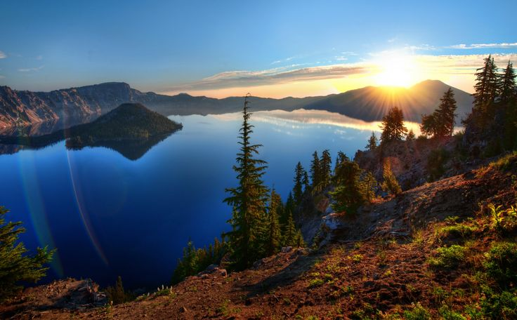 Crater Lake, Oregon. Photo: Trey Ratcliff on SkiMag.com: Trey Ratcliff, Favorite Places, Crater Lakes Oregon, Beautiful, Crater Lake Oregon, Lakes Home, National Parks, Kids Camps, Photo