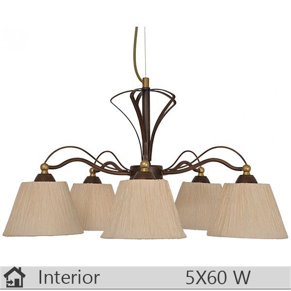 Lustra iluminat decorativ interior Klausen, gama Bella, model nr5