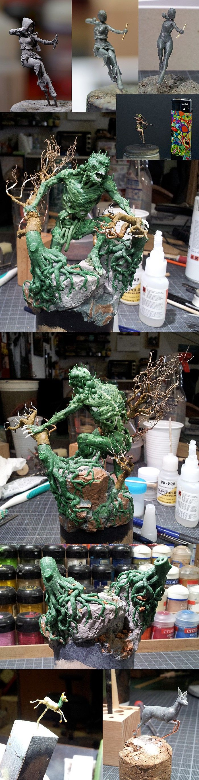 Touch of Death - Sculpting