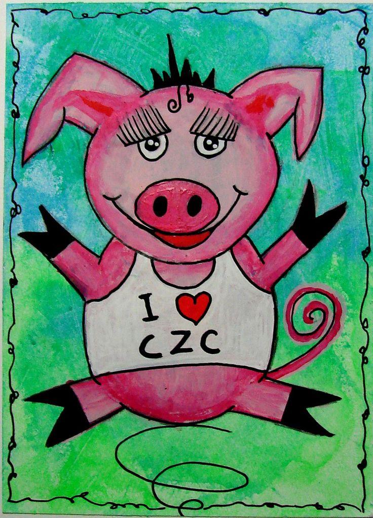 #42 Teken een varken