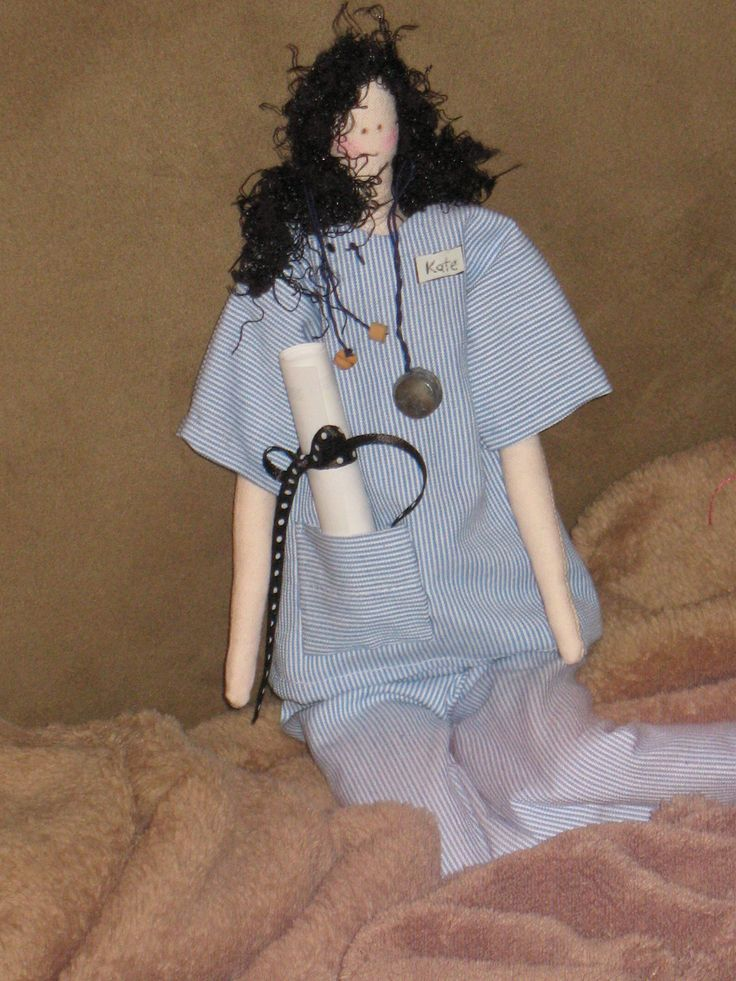 Tilda doll by Cheryl Ford for my niece kate who just got her RN!