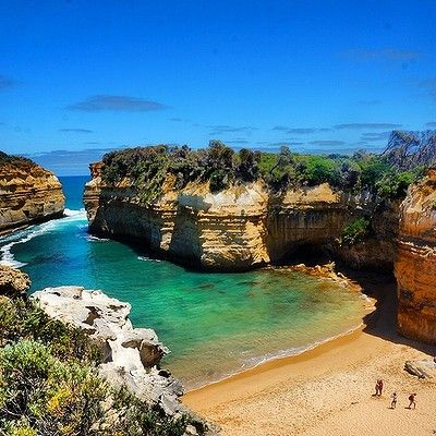 Loch Ard Gorge, Great Ocean Road, Victoria: When travelling along the #greatoceanroad Loch Ard Gorge is worth checking out...this beautiful shot by @1w1e1r3h shows why!