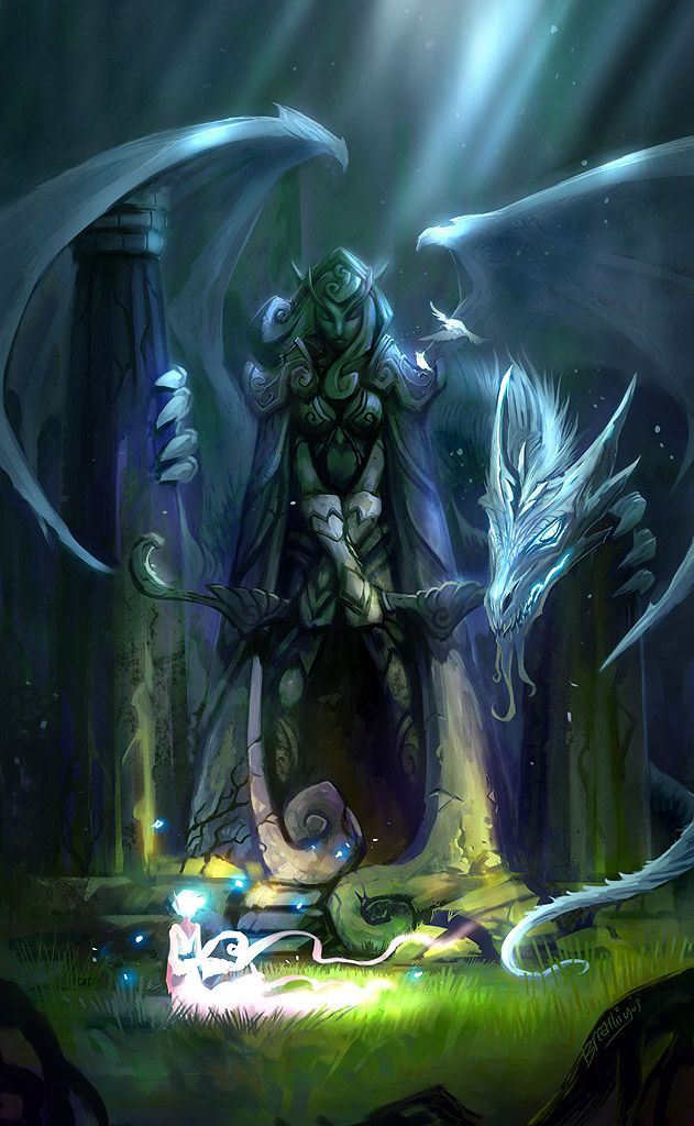It was his fault that his master and companion had died. Now he plans to make amends and guard her tomb forever more.