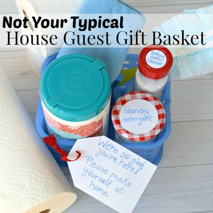 This Is Not Your Typical House Guest Gift Basket, But Your House Guests  Will Appreciate