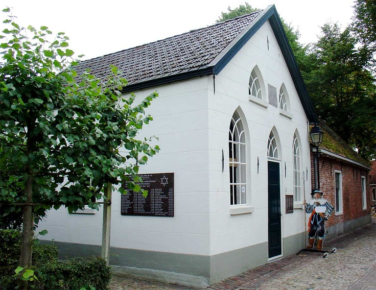 Synagogue, Bourtange, the Netherlands. Now a museum