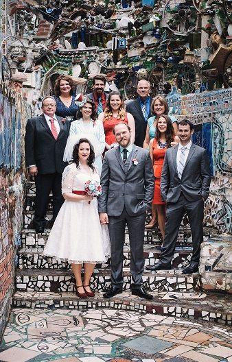 Philadelphia S Magic Gardens Allebach Photography Family Wedding Photo Idea