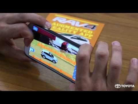 RAV4 Augmented Reality Playground