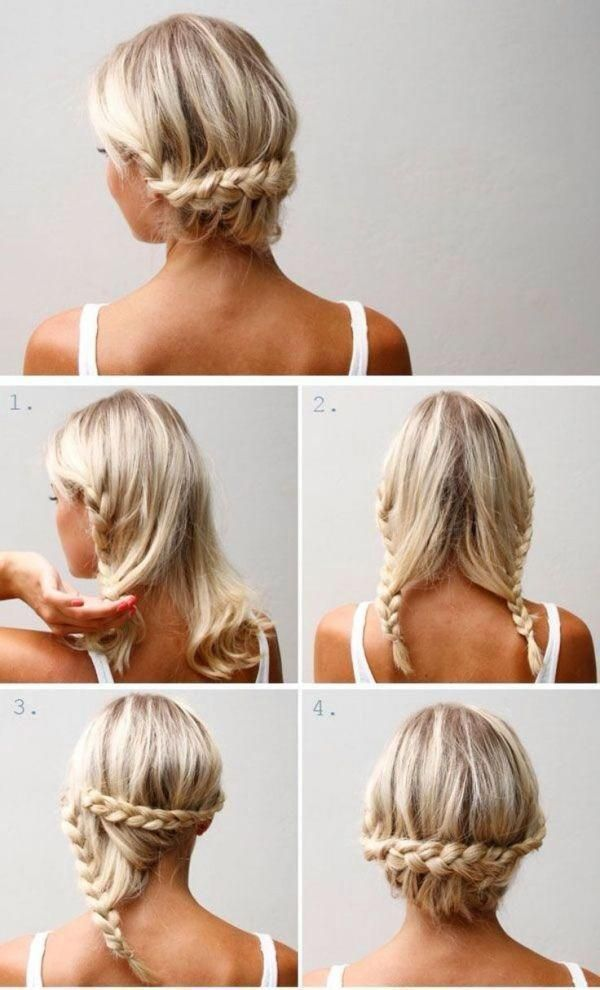 Easy Braid Chignon Step By Step Hairstyles Hairstyle Tutorials