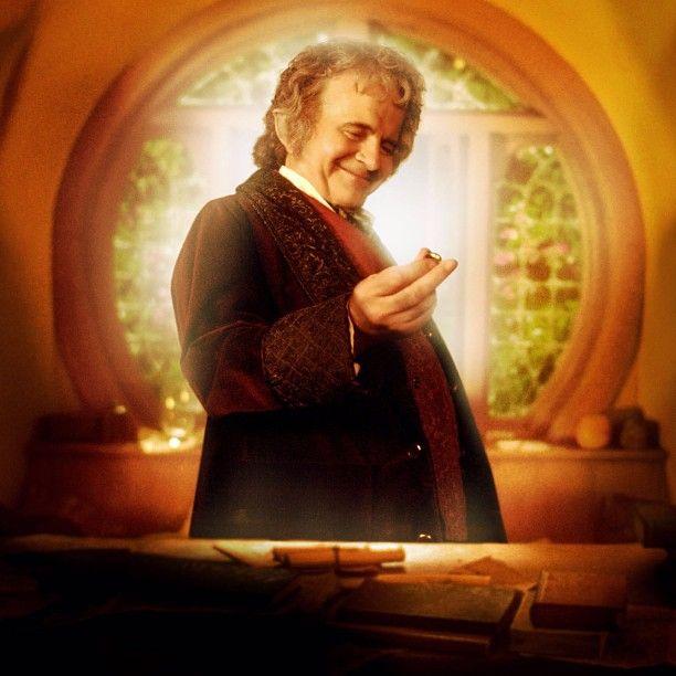 Bilbo Baggins Ring Hobbit Shire Bagend Fellowship Lotr