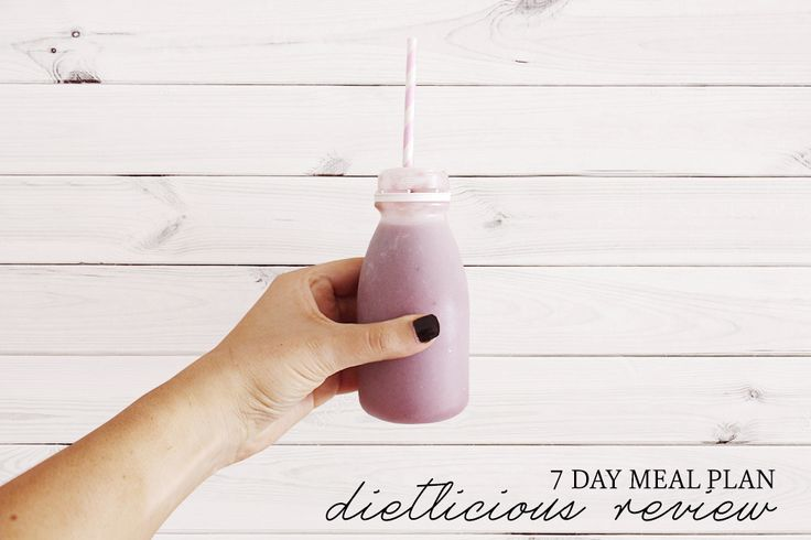 Dietlicious: 7 Day Meal Plan Review