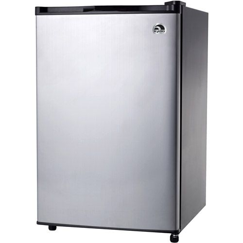 Buy Igloo 3.2 cu ft Refrigerator Platinum only $91.98  Today You can buy Igloo 3.2 cu ft Refrigerator Platinum only $91.98 at Walmart store. This product is being trending now with discounted price. The Igloo 3.2 cu ft Refrigerator is ideal for use in a dorm room or office space. It features an adjustable thermostat that ranges from 4 to 16 degrees Celsius. This platinum refrigerator has a removable glass shelf along with a water tray inside and the capability to manually defrost. Designed…