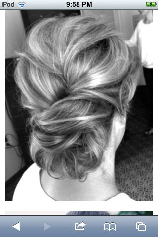 Bridesmaid hairstyle??