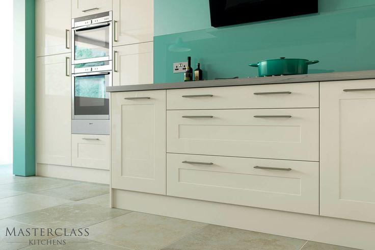 Seville Ivory gloss shaker kitchen