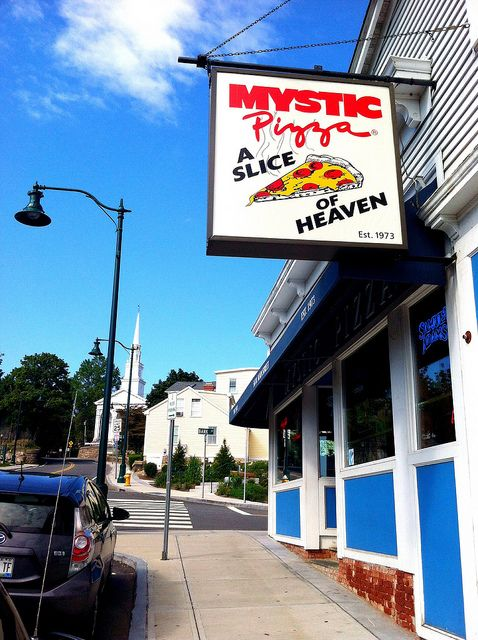 Mystic Pizza, Mystic, CT...the grinders (subs) are good too.  tm