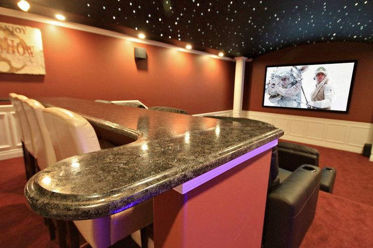 It's a home theater! That is insane!!
