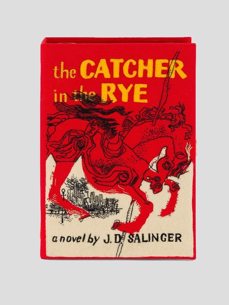 Olympia Le Tan The Catcher In The Rye Book Clutch Fivestory New York Banned Books Classic Books Good Books