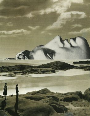 """Saatchi Online Artist Deborah Stevenson; Assemblage / Collage, """"Shores of Time and Memory"""" #art"""