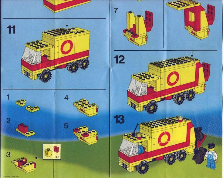 City - Refuse Collection Truck [Lego 6693]
