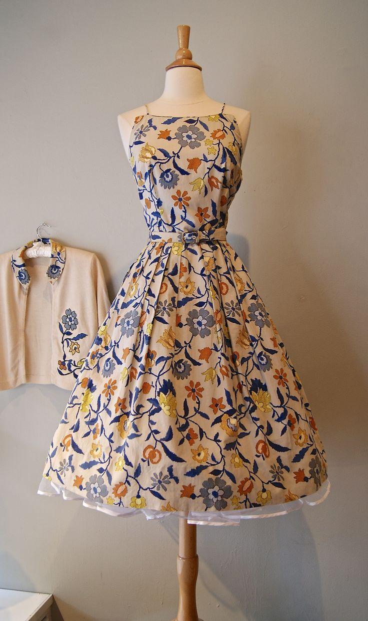 1950s Dress sold at Xtabay.   xtabayvintage.com