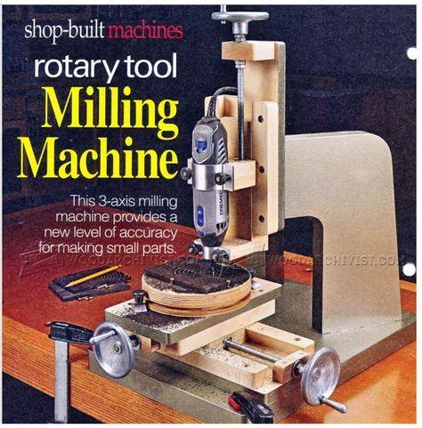 um projeto legal utilizando a mini tupia para fazer esse projeto :         http://woodarchivist.com/1624-diy-milling-machine/
