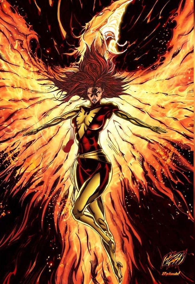 Image result for Dark phoenix fan art