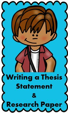 fun thesis statement lesson plans