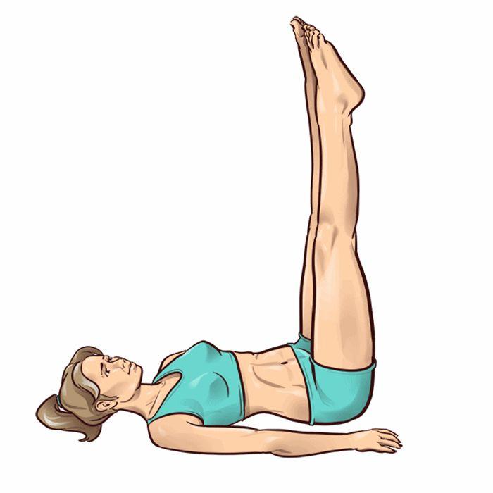 3 minútové cvičenie na nohy