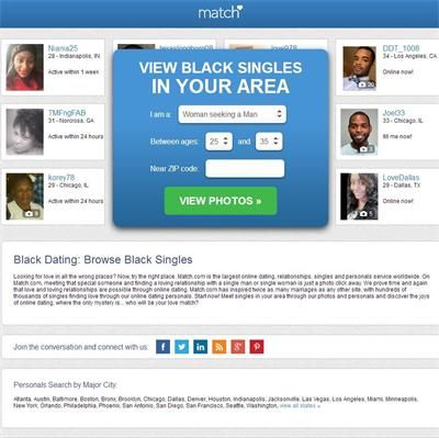 Match | Best Black and White Dating Sites (2017)