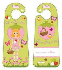 Printable Door Hangers|Lottie