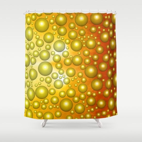 UP TO $12 OFF + FREE WORLDWIDE SHIPPING ON BATH GEAR - SAVE ON SHOWER CURTAINS, BATH MATS AND TOWELS UNTIL MIDNIGHT PT! Cheerful bubbles Shower Curtain